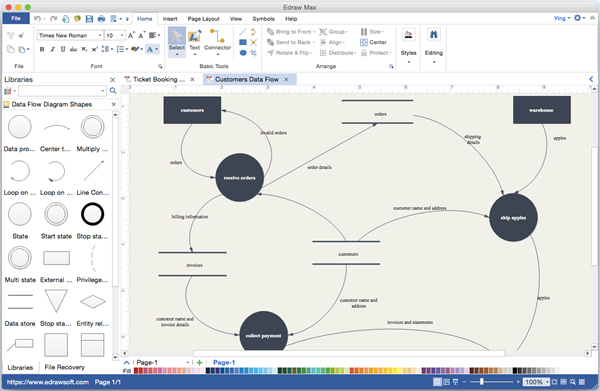 Is there an affordable data flow diagram program using on mac that is there an affordable data flow diagram program using on mac that can replace visio ccuart Gallery