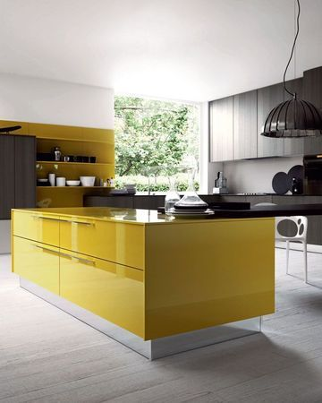 Cuisine Design Les 25 Modeles Des Cuisinistes A Suivre Cuisine Moderne Cuisines Design Cuisine Jaune