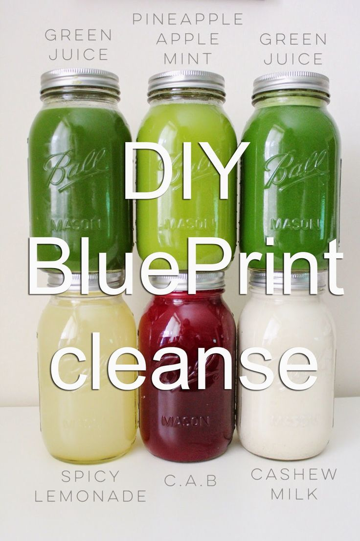 Updated DIY Blueprint Cleanse Healthy detox cleanse