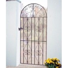 Stirling Bow Top Gates Wrought Iron Style