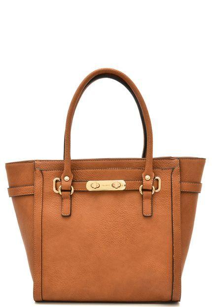 e179a5412 Bolsa VIA UNO Lisa Caramelo em 2019   MAMES - Look Book   Bags ...