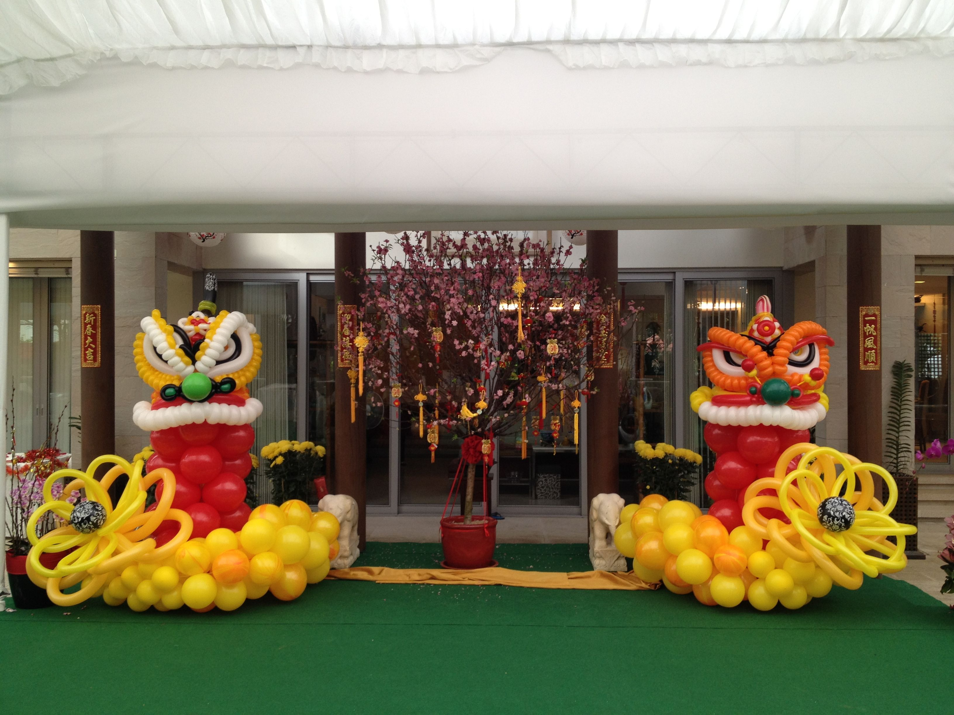 CNY Balloons Decorations