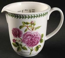 Portmeirion Roses Water Jug Pitcher New 30oz