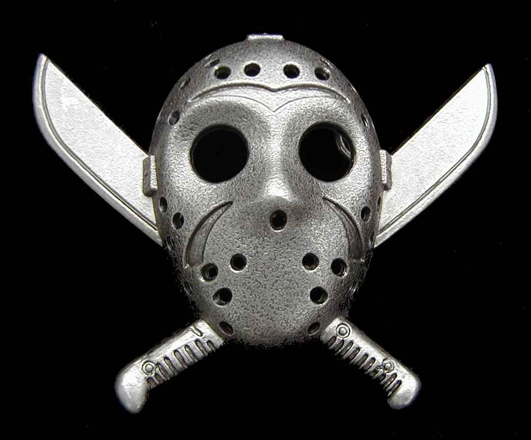 Friday the 13th Belt Buckle