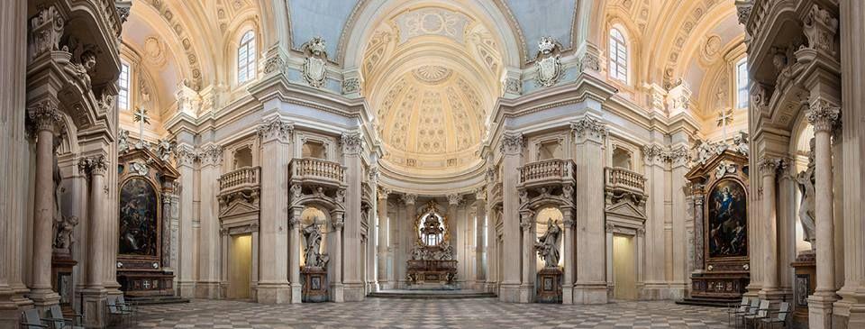 Church of Sant'Umberto, Venaria Reale, Turin, Italy (1716