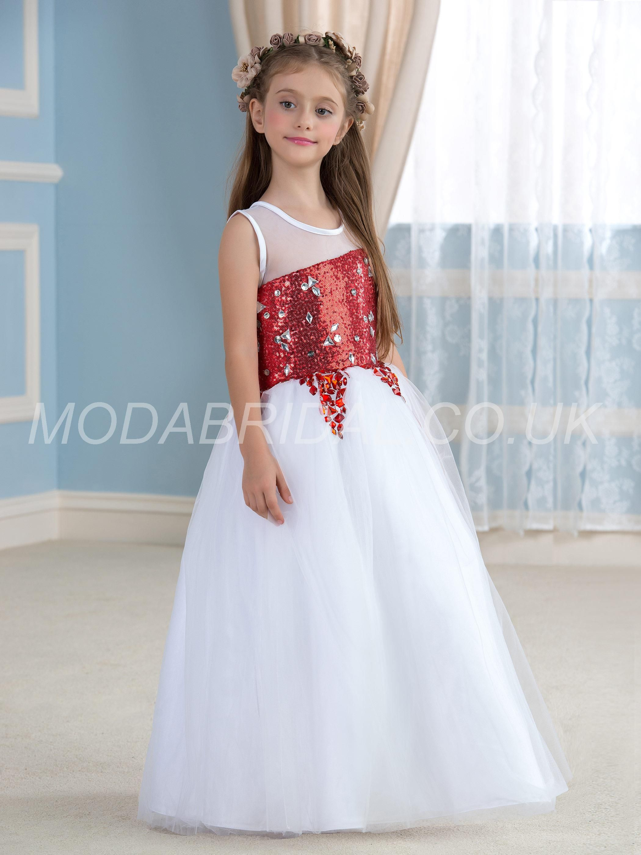 modabridal.co.uk SUPPLIES Fashionable FloorLength Sequins