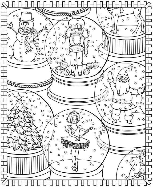 coloring pages  dibujo navidad para colorear mandalas