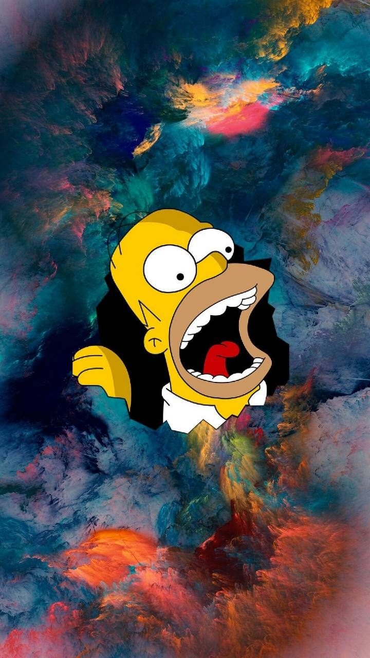 Homer Simpson wallpaper by Boby_artur - a0 - Free on ZEDGE™
