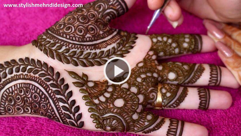 Beautiful  arabic henna designs with the help of bangle step by tutorial artsycraftsydad also rh pinterest