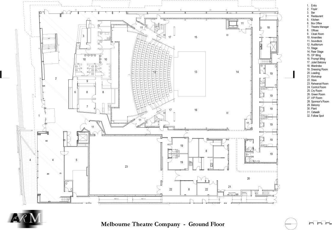 Media For Melbourne Recital Centre And Melbourne Theatre