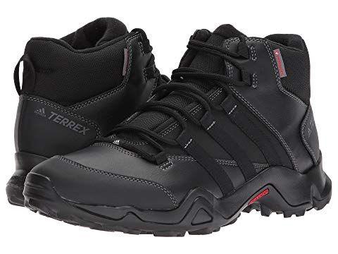 Terrex Ax2r Beta Mid Cw Black Black Energy Boots Mens