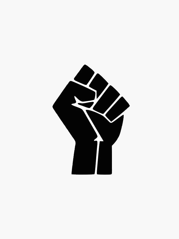 Black Lives Matter Fist Sticker By Mollycashphoto In 2021 Black Lives Matter Art Black Lives Matter Black Lives