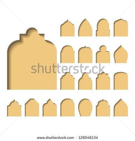 Gothic Arch Stock Vectors Images Vector Art