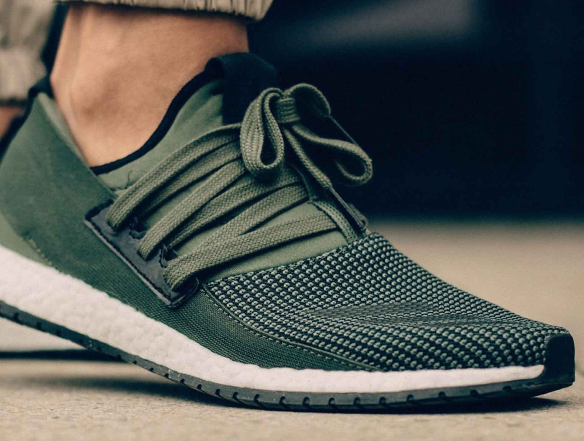 ladies adidas trainers green