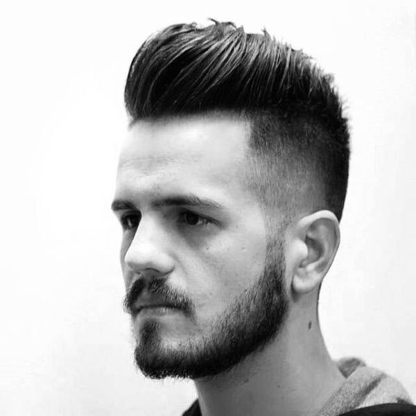 Medium Length Thick Hair Fade Hairstyles For Men 2