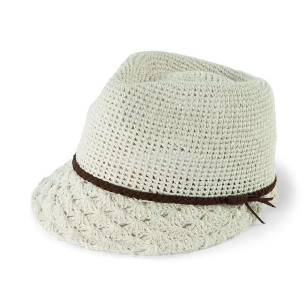 EBH9840- Women\'s Crochet Fedora Cap $84   Hats and Fedoras for ...