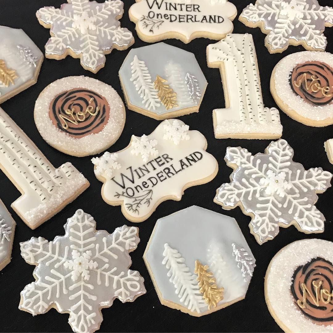 Winter Wonderland Sugar Cookies Sugar Cookies By Sadiebabysweets