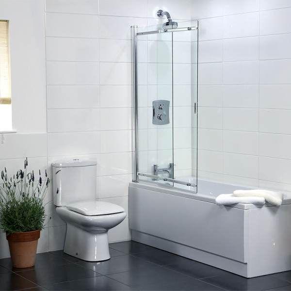 Coram Sliding Shower Screen 1065mm Width Ssl2105cuc