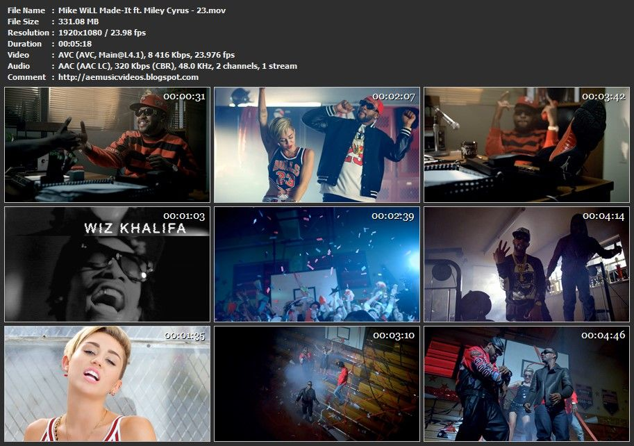 Aemusicvideos Mike Will Madeit Ft Miley Cyrus 23 Master 1080p Rhpinterest: Miley Cyrus 23 Audio At Elf-jo.com