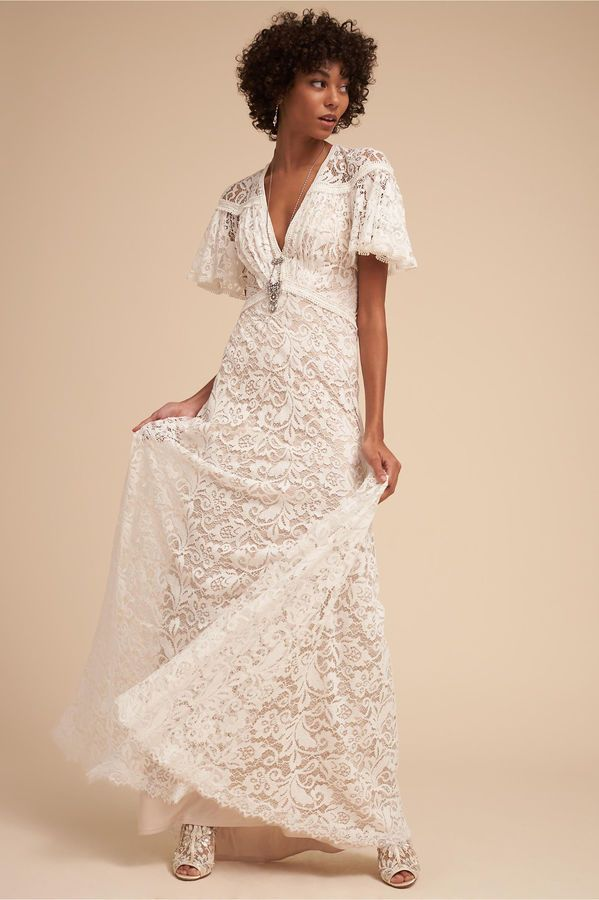 BHLDN Copeland Gown | Gowns, Wedding dress and Courthouse wedding