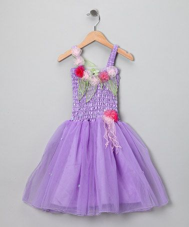 4fd87b9c7229 Take a look at this Light Purple Hannah Dress - Girls by Fairy ...