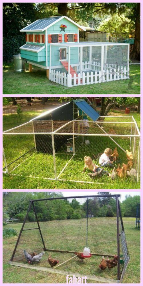 10+ DIY Backyard Chicken Coop Plans and Tutorial ...
