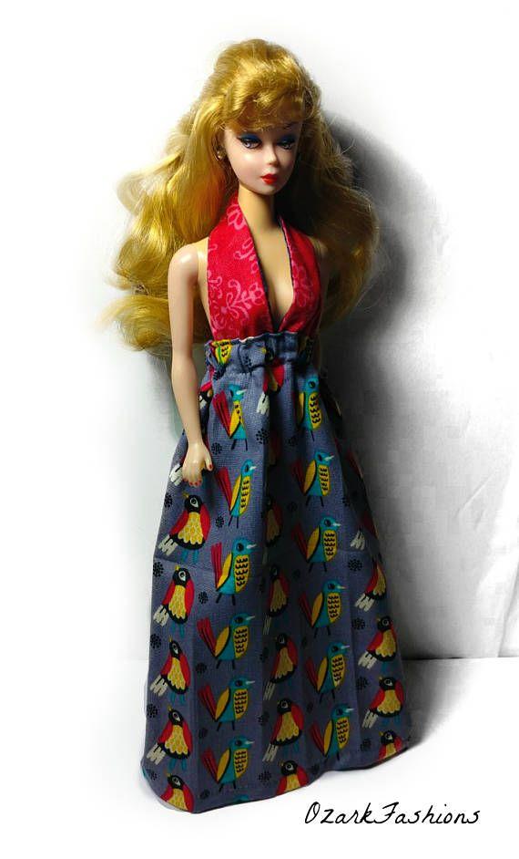 9bdaf83f29 Barbie Granny Dress ONE SIZE fits ALL Curvy Tall Modern