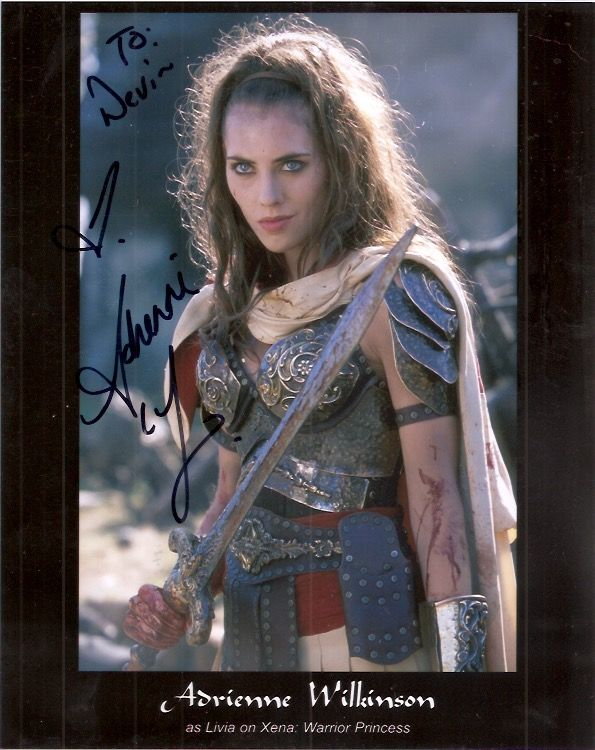 Adrienne Wilkinson From Quot Xena Warrior Princess