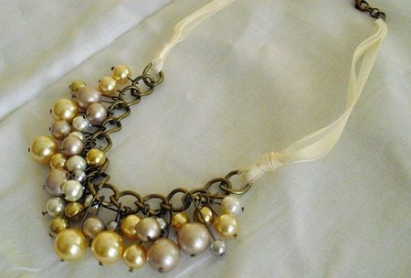 Ожерелье своими руками мастер класс 12