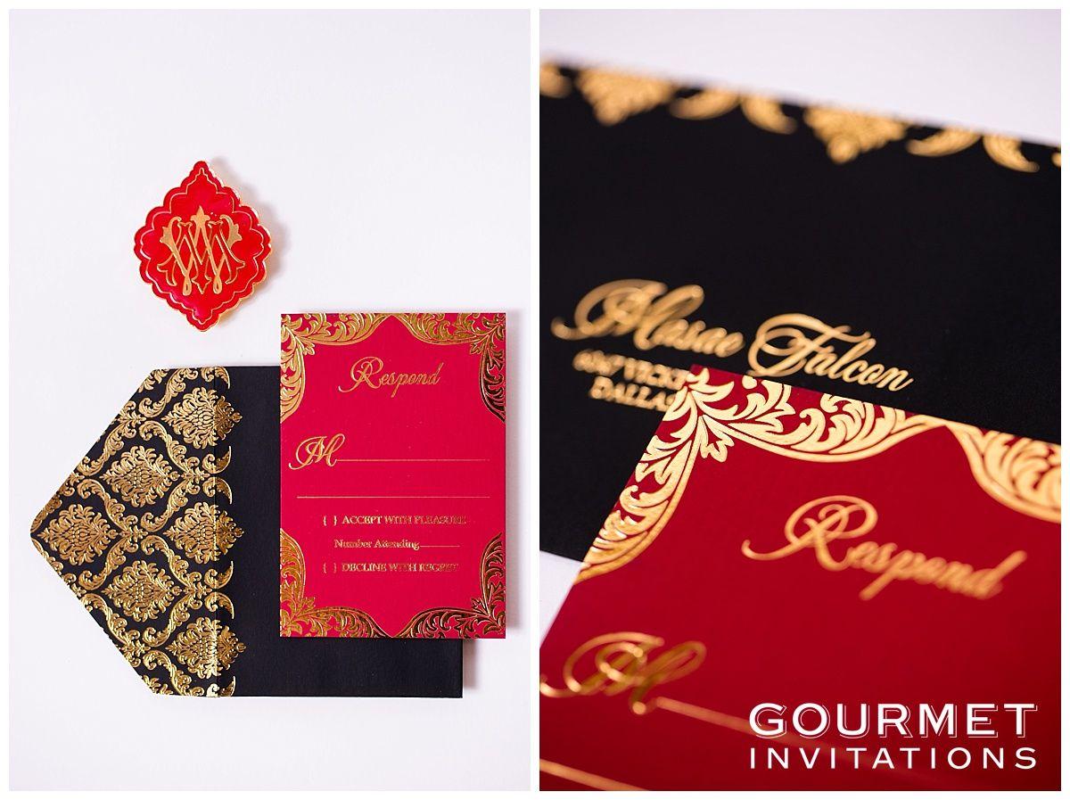 Velvet Wedding Invitations | wedding | Pinterest | Response cards ...