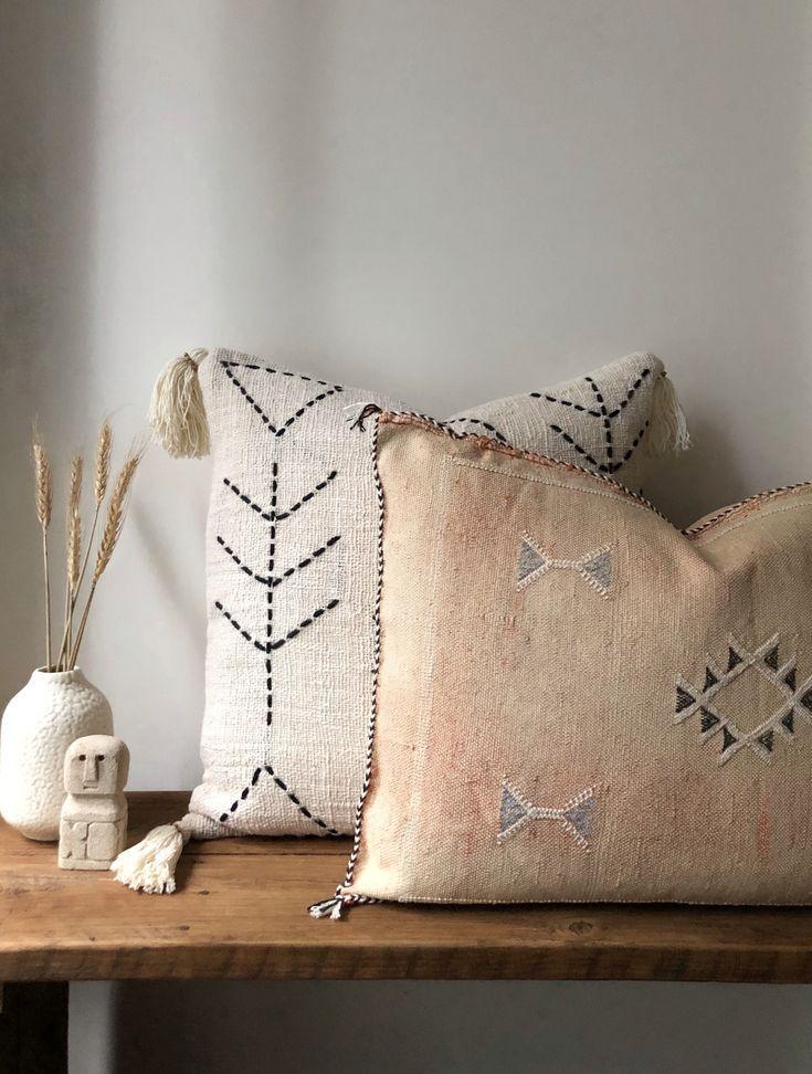 Cactus silk cushions