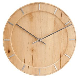 Amazing Present Time Karlsson Pure Wood Wall Clock Great Ideas