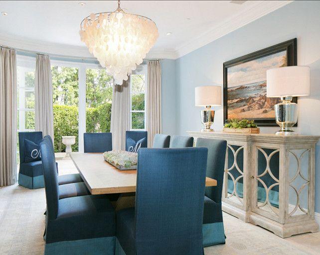 Coastal Dining Room Ideas Part - 27: Dining Room Ideas. Dining Room Decor. The Dining Room Has A Coastal, Casual