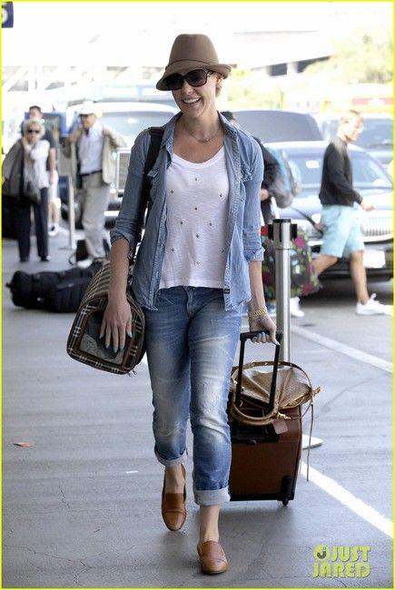 Katherine Heigl and Mavi Jeans 'Emma' Slim Boyfriend Jeans. Got ...