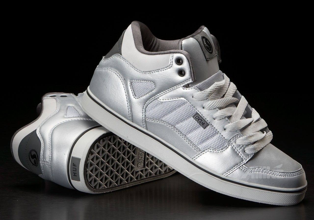 DVS Huf Mid Throwback Silver rSW6t4sV