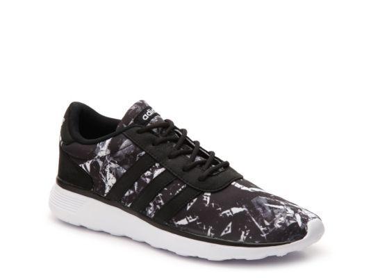adidas damenschuhe womens adidas neo - racer gedruckten sneaker