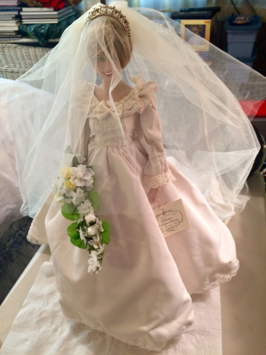My Princess Diana Doll In Wedding Gown   The Royal Family - In ...