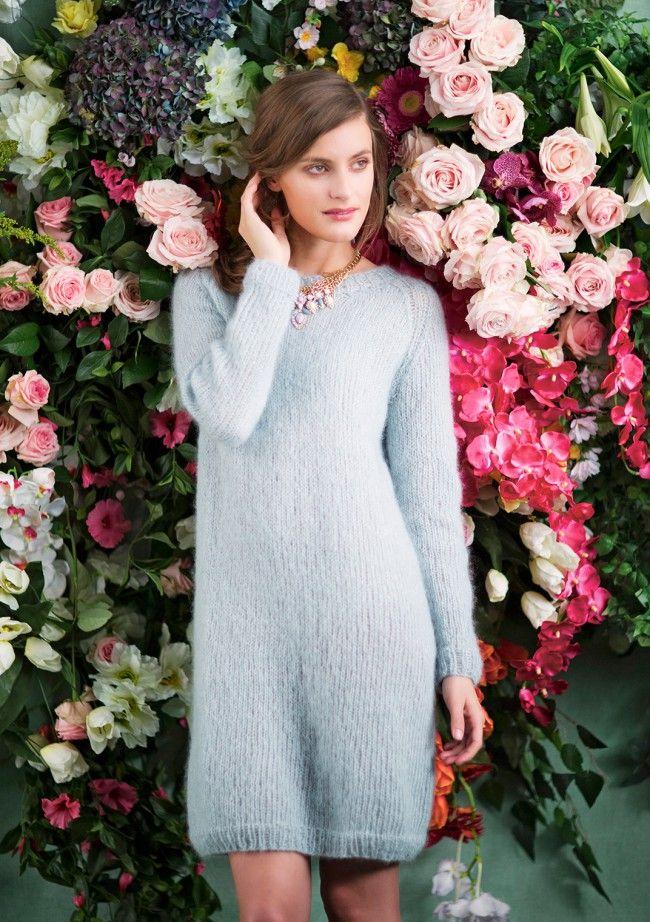 Knittet Tiril Eckhoff dress Strikket Tiril kjole | Klær, Strikk