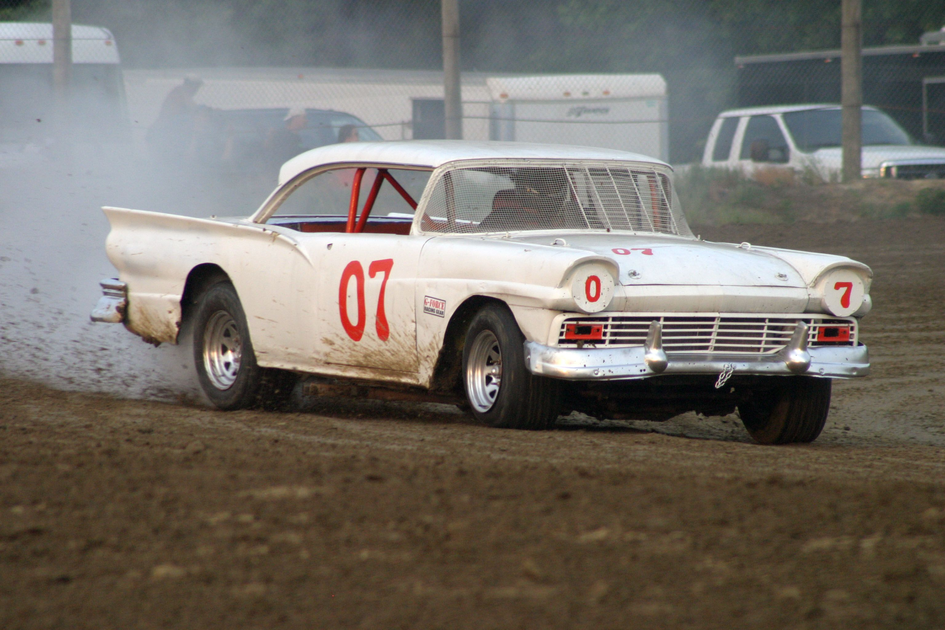 57 ford stocker classic racing cars ford racing