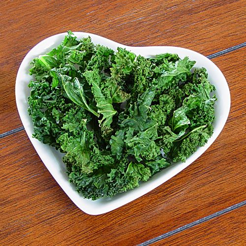 Kale have iron