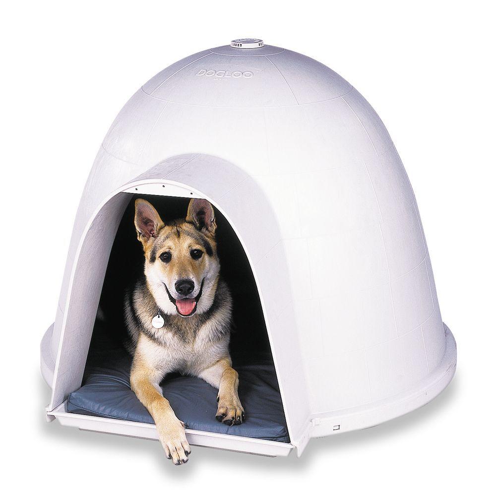 Petmate Dogloo Xt Dog House Size 48 5 L X 47 W X 37 H White