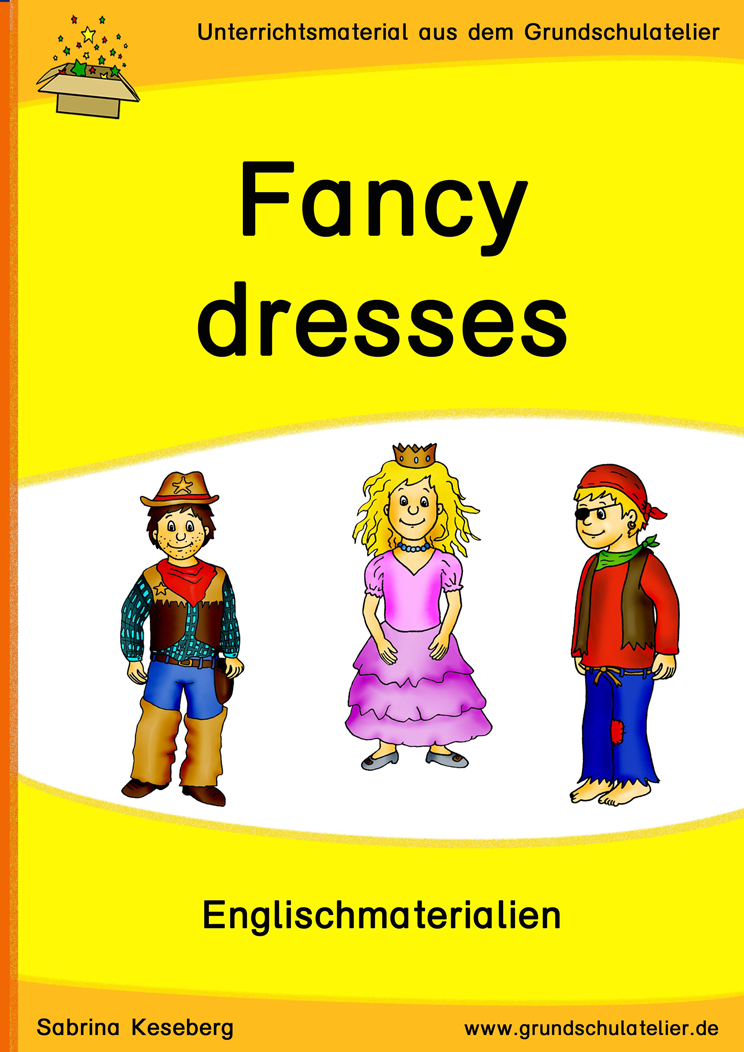 Fancy dresses / costumes (Halloween, carnival) | Unterrichtsmaterial ...