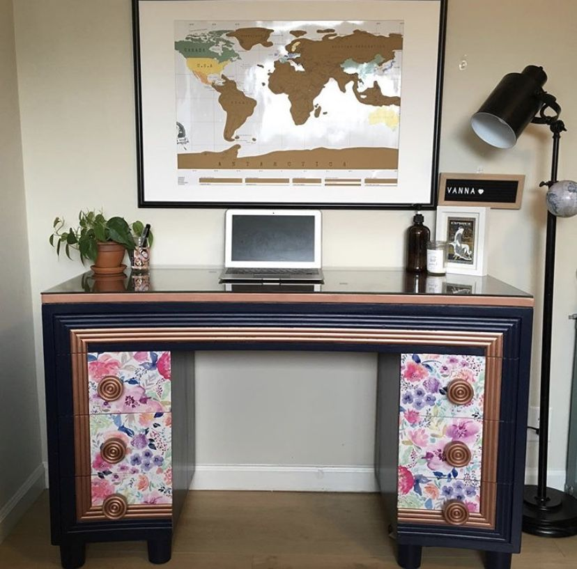 For my latest creations, follow me on Instagram @brushedbiographies #brushedbiographies #vanna #vanity #paintedfurniture  #mystylepainted #furnitureflip #reimaginedpaintedfurniture #midcenturymodern  #mcm  #paintedfurniturelove  #refinishedfurniture #vintage  #upcycler #furnitureflip  #upcycledfurniture  #paintteddresser  #furnituretransformation #midcentury #repurposedfurniture #imadeitlovelyagain #paintitbeautiful #mcmlove #furniturerehab