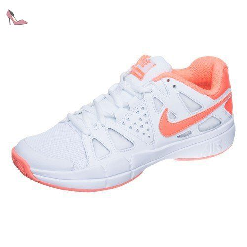 Nike Damen W Air Vapor Advantage Cly Tennisschuhe, Blanco (White / Bright  Mango-Atomic Pink), 44 EU - Nike schuhe (*Partner-Link)