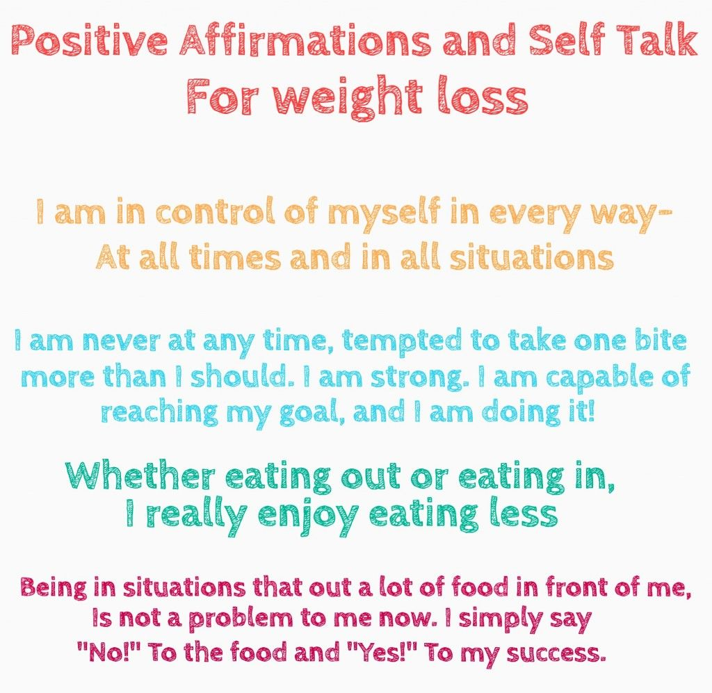We make affirmations for weight loss 70