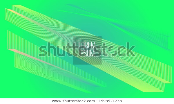 Neon Green Abstract Geometry Modern Style Stock Vector Royalty Free 1593521233 Modern Style Styled Stock Neon Green