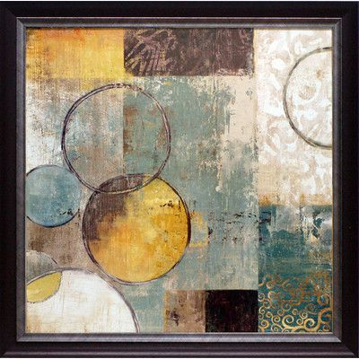 North American Art 'Peace of Mind I' by Tom Reeves Framed Painting Print