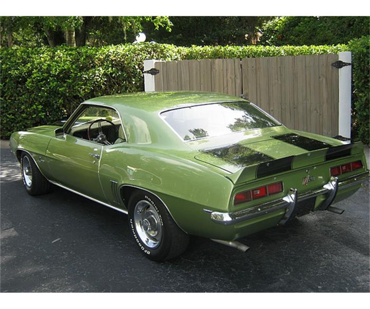 For Sale: 1969 Chevrolet Camaro Z28 in Mount Dora (Orlando), Florida
