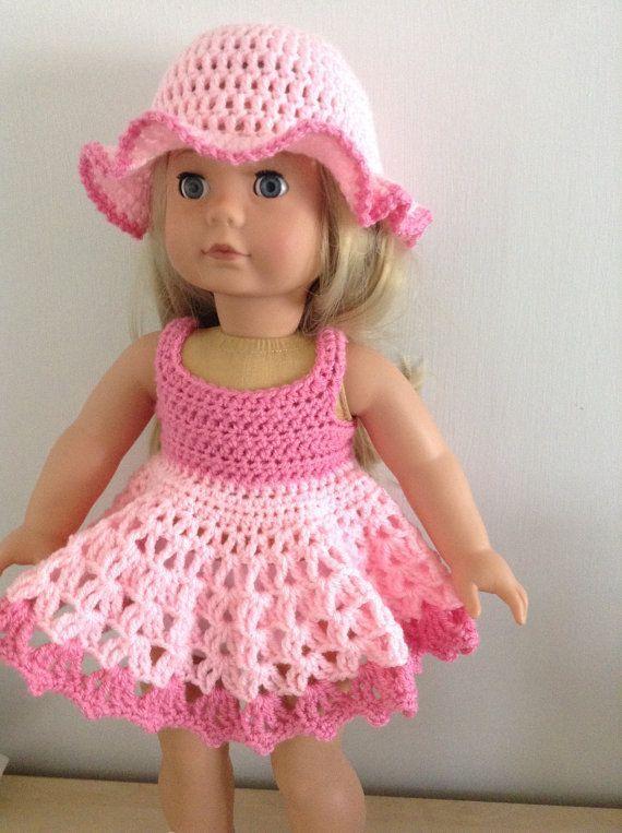Crochet Baby Hats PDF Crochet pattern for 18 inch doll, American ...