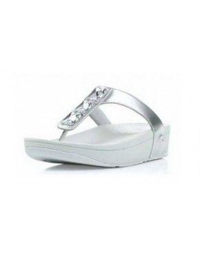 ef6dadcfaa3 Women Fitflop Pietra Slippers Silver